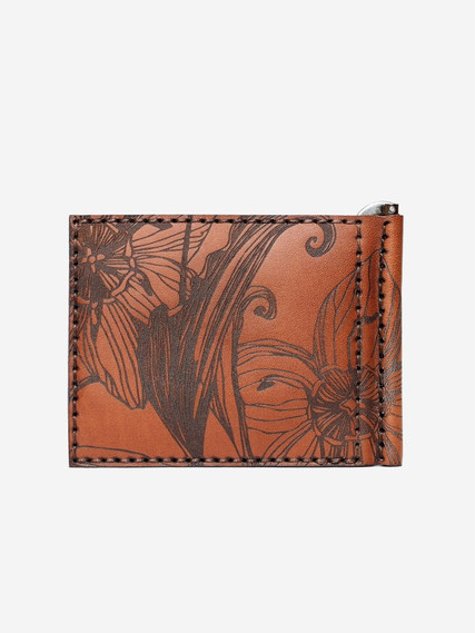 Nata-flowers-brown-money-clip-wallet-02