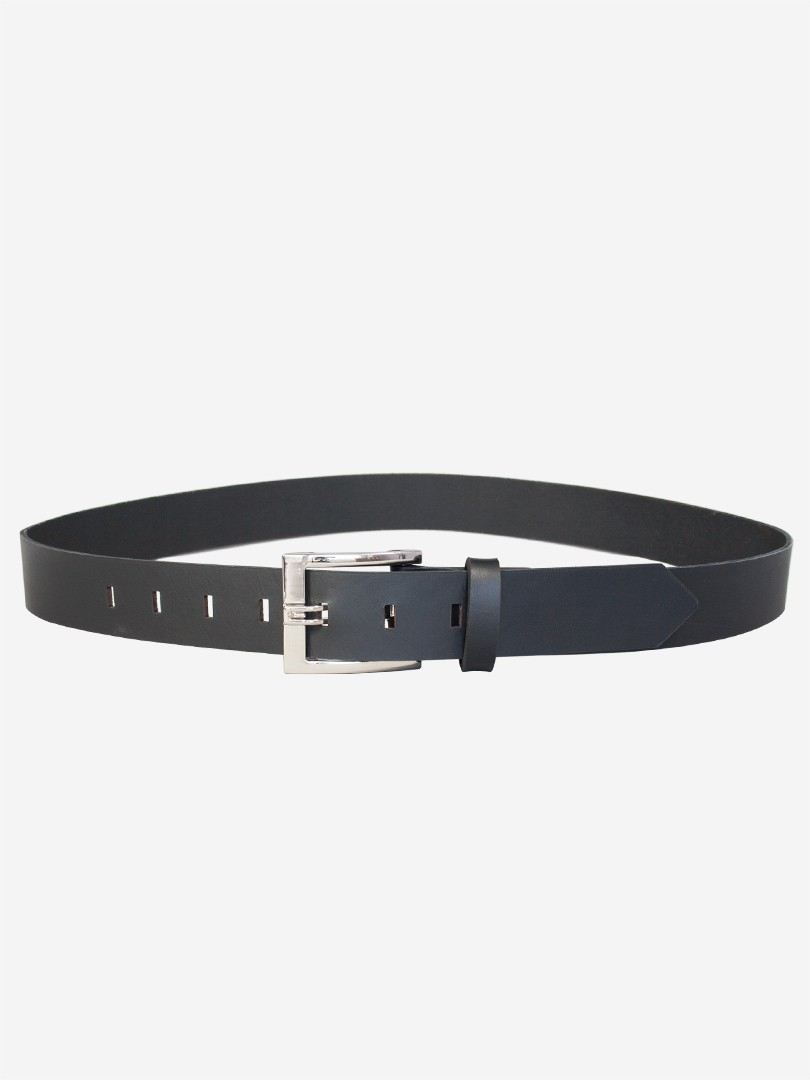Franko Office 35 Black belt in italian vegetable tanned leather | franko.ua