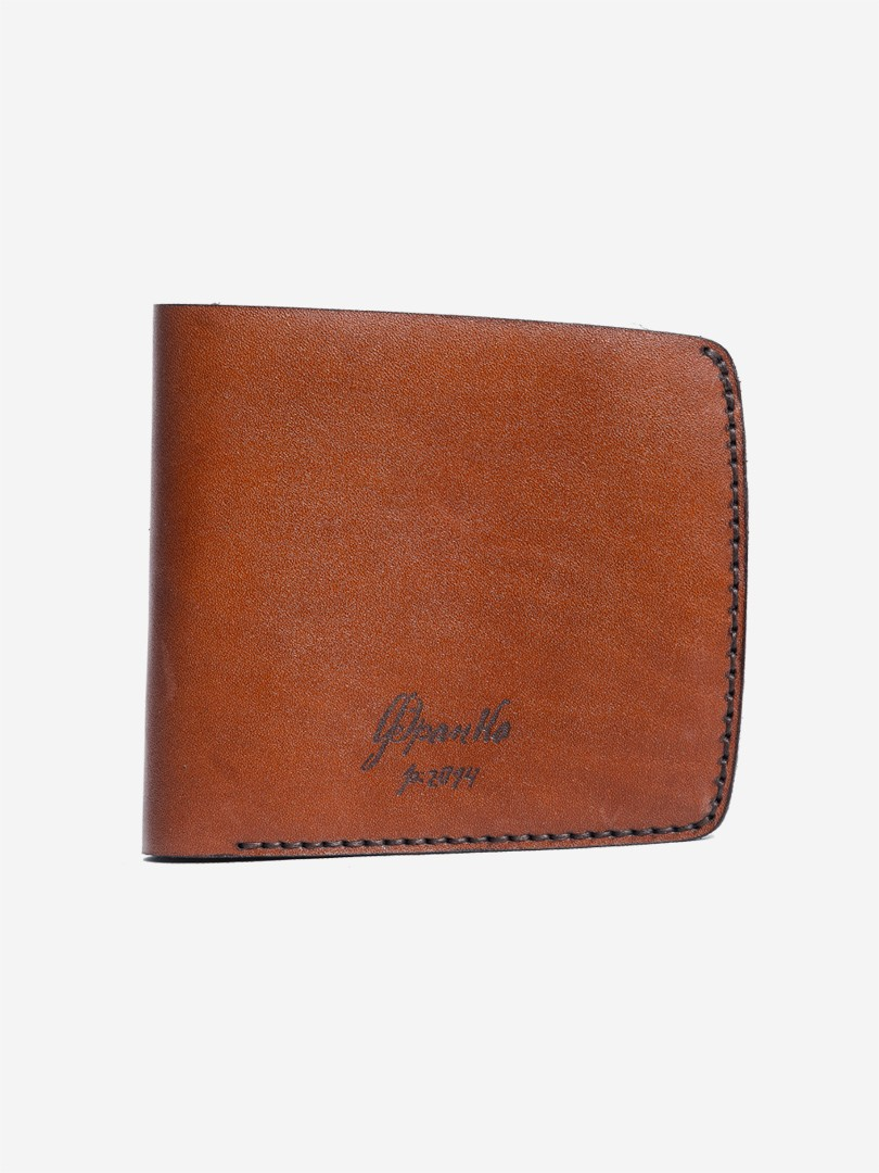 Franko brown Big wallet in natural leather | franko.ua