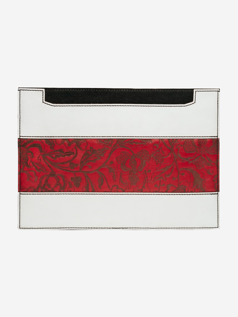 Kozak flowers horizontal red Сase for MacBook Air | franko.ua