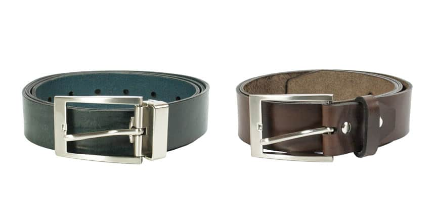 New Franko Office belts in vegetable tanned leather